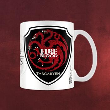 Game of Thrones - Targaryen Wappen Tasse