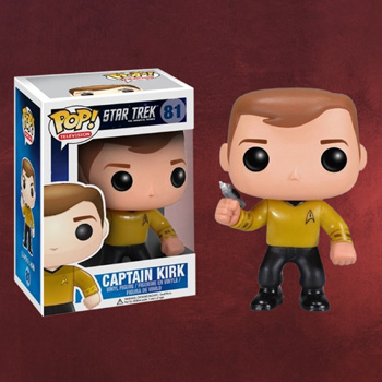 Star Trek - Captain Kirk Mini-Figur