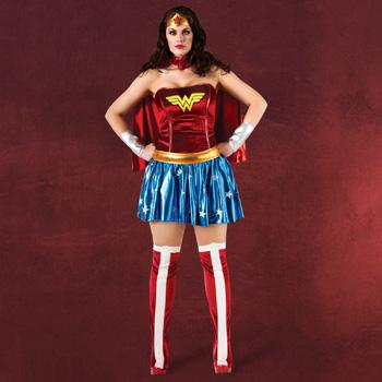 Wonder Woman - Deluxe Kost�m Damen