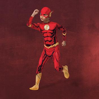 Flash - Kinderkostüm mit Maske
