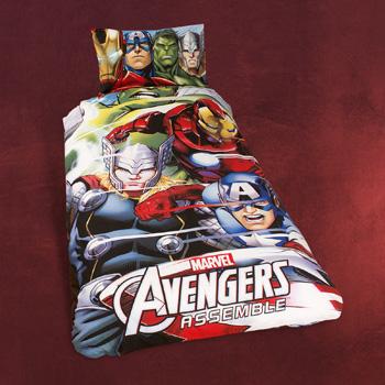 Avengers Team 3D Wende-Bettw�sche
