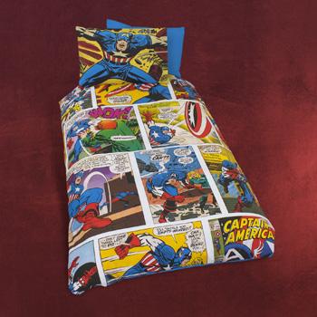 Captain America - Marvel Wende-Bettw�sche