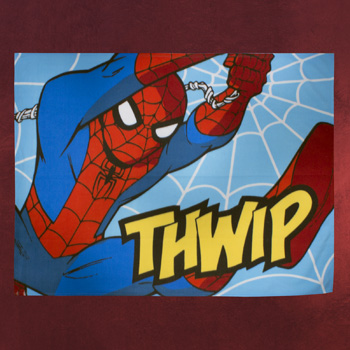 Spider-Man - Ultimate Thwip Fleecedecke