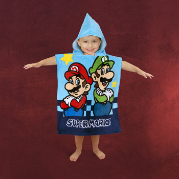 Nintendo - Super Mario Badeponcho für Kinder
