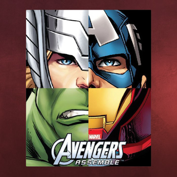 Avengers Team Fleecedecke