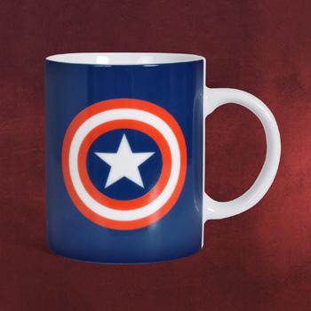 Captain America Logo Shield Tasse