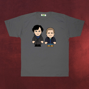Detectives - Toonstar Cartoon T-Shirt