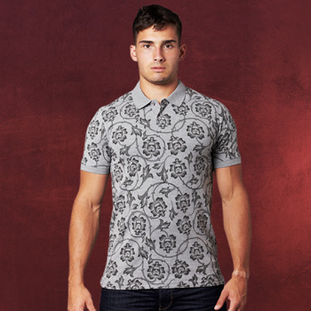 Star Wars - Floral Trooper Polo Shirt