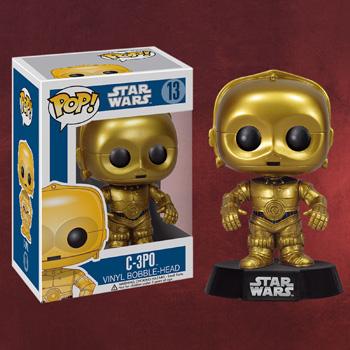 Star Wars - C-3PO Wackelkopf Figur
