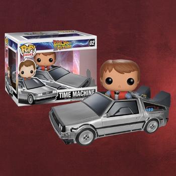Zurück in die Zukunft - Marty mit Delorean
