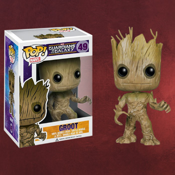 Guardians of the Galaxy - Groot Wackelkopf-Figur