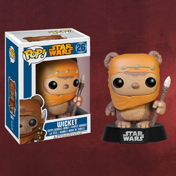 Star Wars - Wicket Mini-Figur