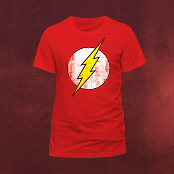 Flash - Retro Logo T-Shirt