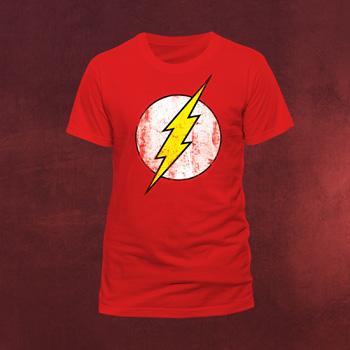 Flash - Retro Logo T-Shirt