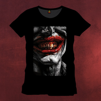 Batman - Joker Bloody Smile T-Shirt