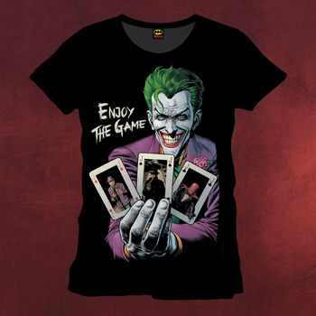 Batman - Joker Enjoy The Game T-Shirt
