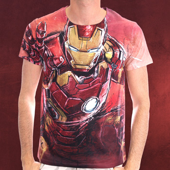 Iron Man - Full Size T-Shirt