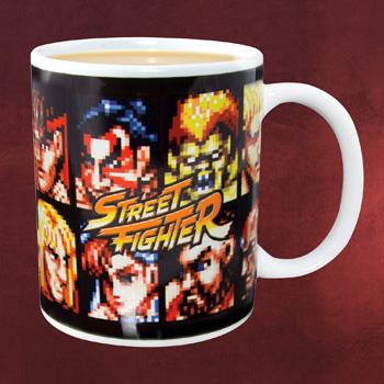 Street Fighter Tasse lizenziert in Geschenkverpackung 300ml Keramik