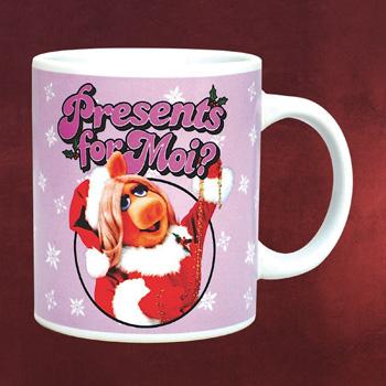 Muppets - Miss Piggy Christmas Tasse