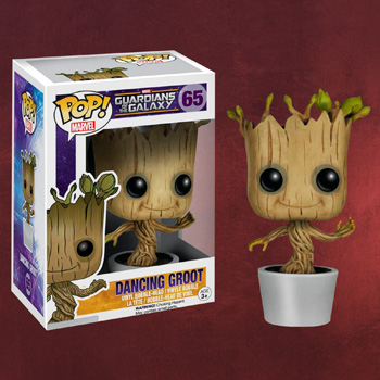 Guardians of the Galaxy - Dancing Groot Wackelkopf-Figur