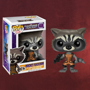 Guardians of the Galaxy - Rocket Raccoon Mini-Figur