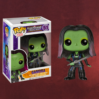 Guardians of the Galaxy - Gamora Wackelkopf-Figur