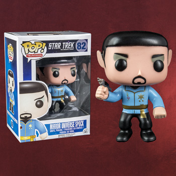 Star Trek - Mirror Universe Spock Mini-Figur