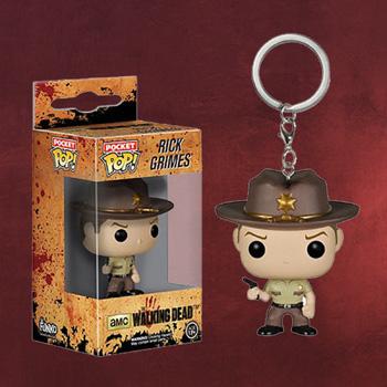 Walking Dead - Rick Grimes Schlüsselanhänger
