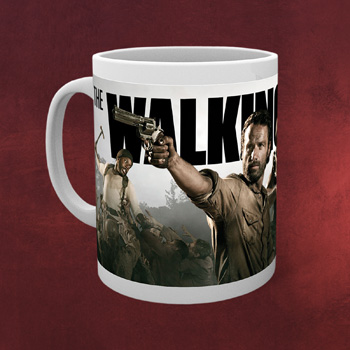Walking Dead - Movie Banner Tasse