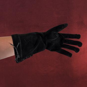 Handschuhe Leder - schwarz