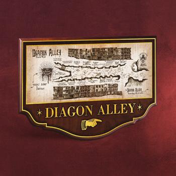 Harry Potter - Winkelgasse Wandbild