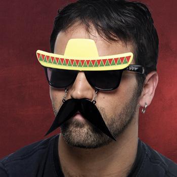 Fun Brille Mexikaner