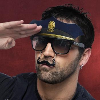 Fun Brille Polizist