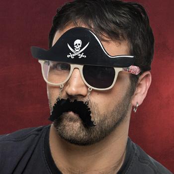 Fun Brille Pirat