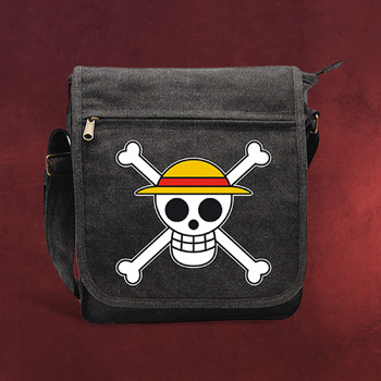 One Piece - Skull With Map Umh�ngetasche