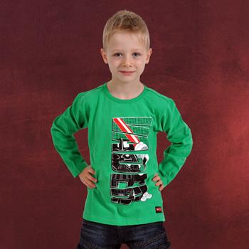 LEGO Star Wars - Vader Bricks Longsleeve für Kinder grün