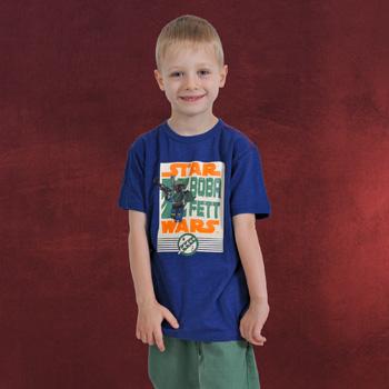 LEGO Star Wars - Boba Fett T-Shirt f�r Kinder blau