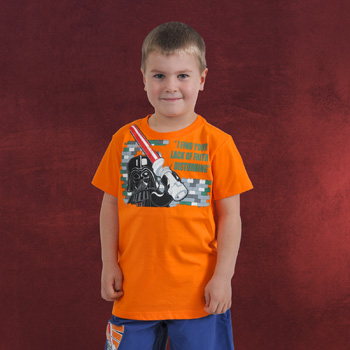 LEGO Star Wars - Darth Vaders Religion T-Shirt f�r Kinder orange
