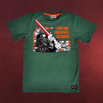 LEGO Star Wars - Darth Vaders Religion T-Shirt für Kinder grün