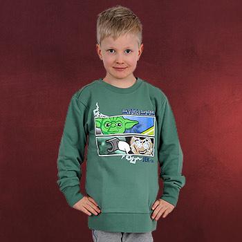 LEGO Star Wars - Yoda Chronicles Sweatshirt f�r Kinder gr�n