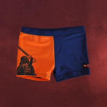 LEGO Star Wars - Darth Vader Badehose f�r Kinder blau-orange
