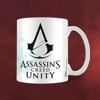 Assassin´s Creed - Unity Black Logo Tasse