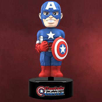 Captain America - Marvel Comics Solar Wackelfigur
