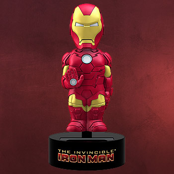 Iron Man - Marvel Comics Solar Wackelfigur