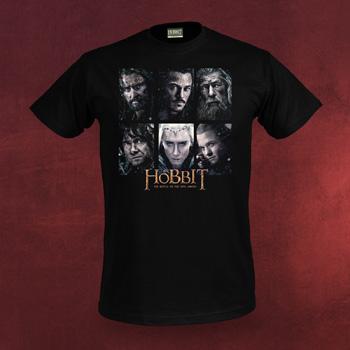 Der Hobbit - Characters T-Shirt