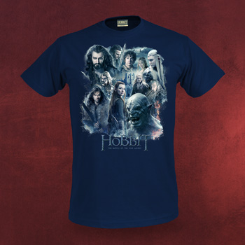 Der Hobbit - Collage Schlacht der 5 Heere T-Shirt