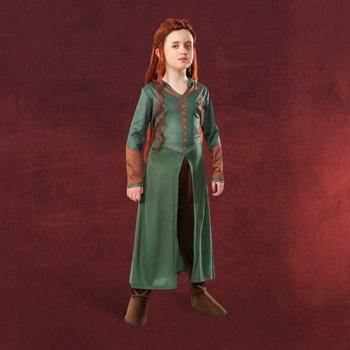 Der Hobbit - Tauriels Elben Kost�m f�r Kinder