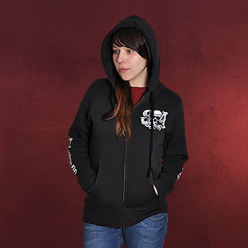 Sons of Anarchy - Reaper Crew Girlie Kappu-Jacke