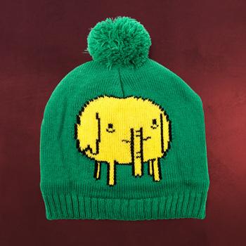 Adventure Time - Rüsseltierchen Mütze mit Bommel