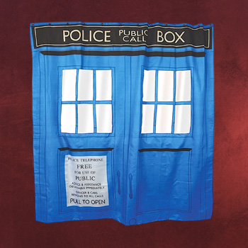 Doctor Who - Tardis Duschvorhang